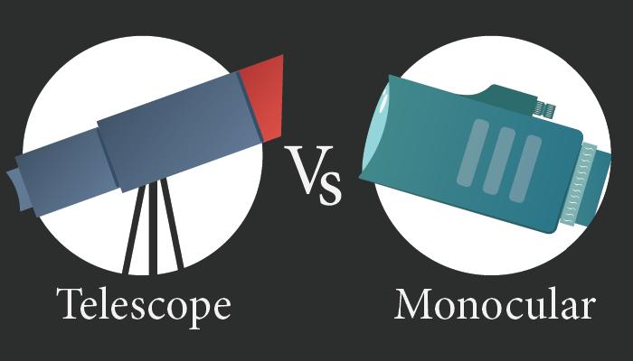 telescope vs monocular
