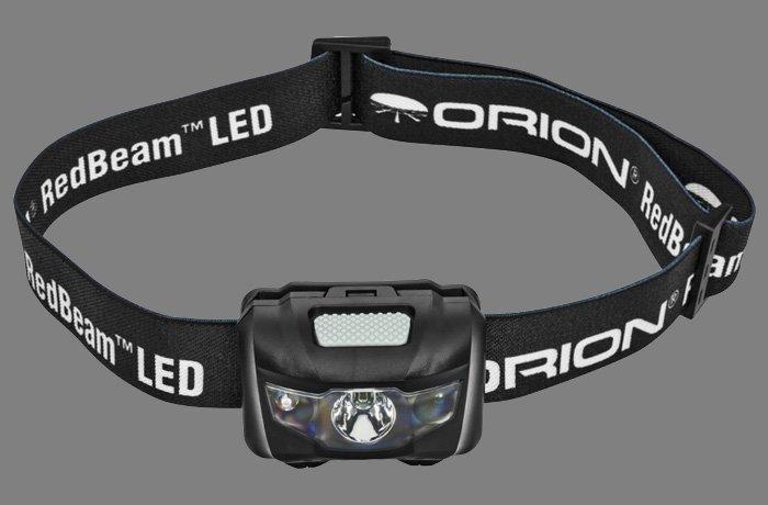 orian redbeam motion sensing red flashlight