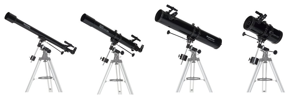 reflector and refractor telescope comparison
